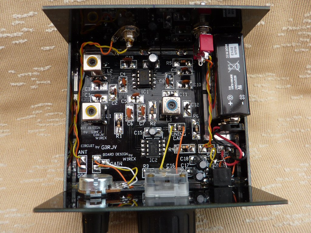 Gqrp Club Low Power Amateur Radio Circuit Electronic Design Inside The Box 40m